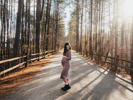 A very special Maternity Session with Christina  Raleigh Photographer