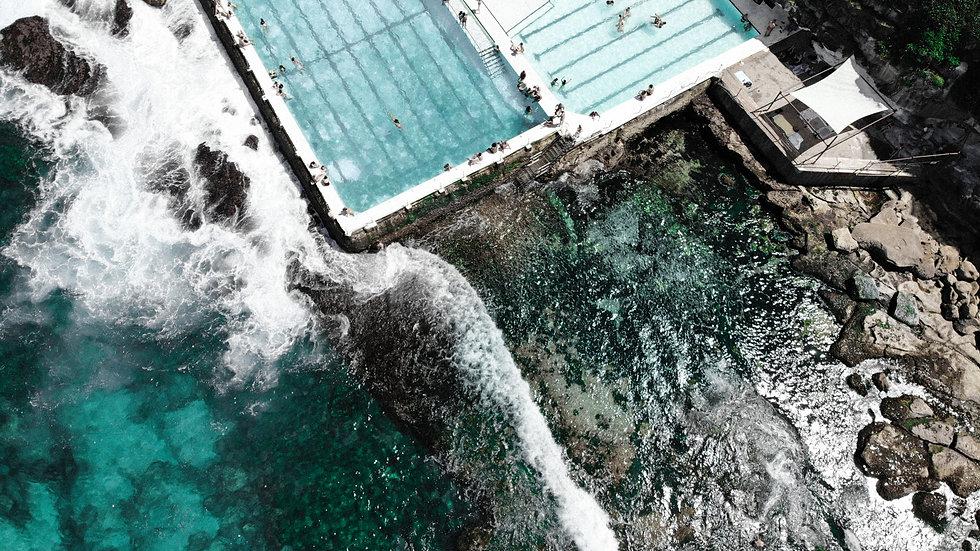 Water and Ice II, Bondi Beach