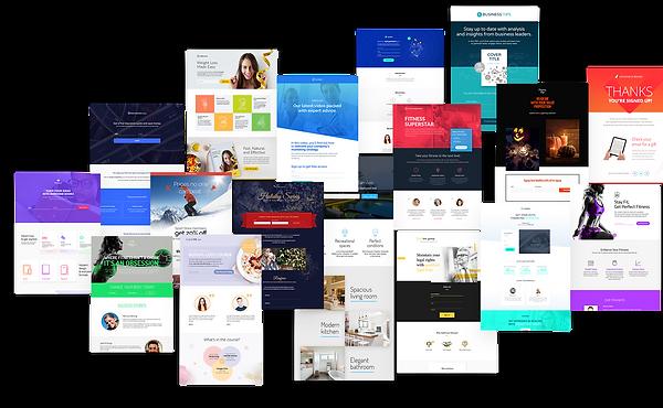Developed websites