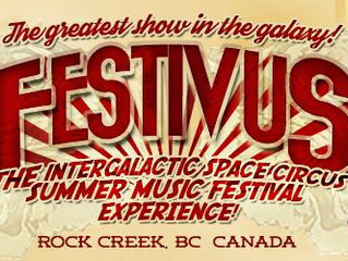 Festivus 13 – The Intergalactic Space Circus Summer Music Festival - July 21-23
