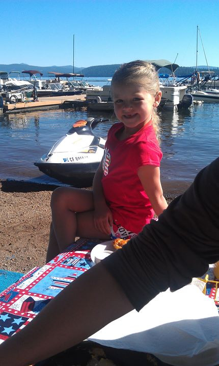 Genna's picture perfect smile in 2012