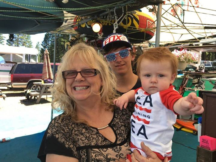 Eileen, Mikey and Whalen on the 4th of July 2017