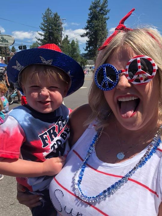 Trina And Whalen on the 4th of July 2019