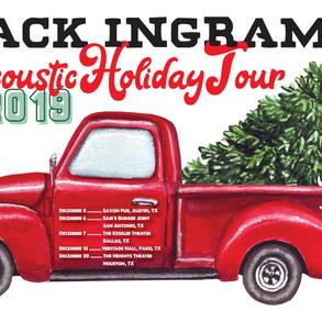 Jack Ingram Acoustic Holiday Tour 2019