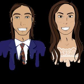 Mr. & Mrs. V Drawing