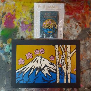 Mt. Fuji Manhole Cover