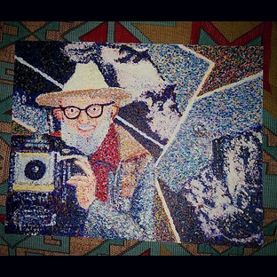 Ansel Adams Pointillism
