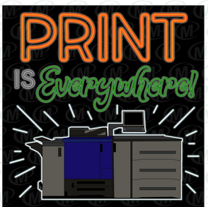 Printer Poster