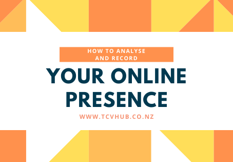How to analyse and record your online presence (Wix Websites)