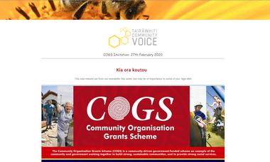COGS Invite 27th Feb 2020
