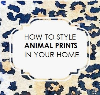 How to Use Animal Prints in Your Home