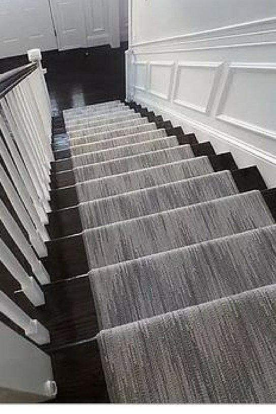 Perry Carpet Installed On Stairs