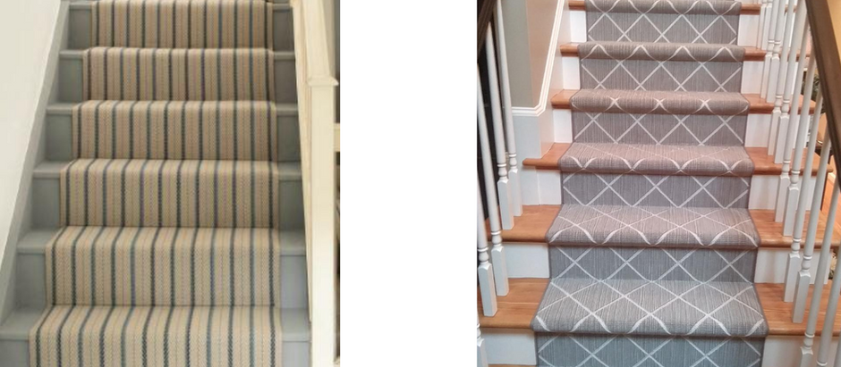 Hollywood Stair Runner vs Waterfall Stair Runner