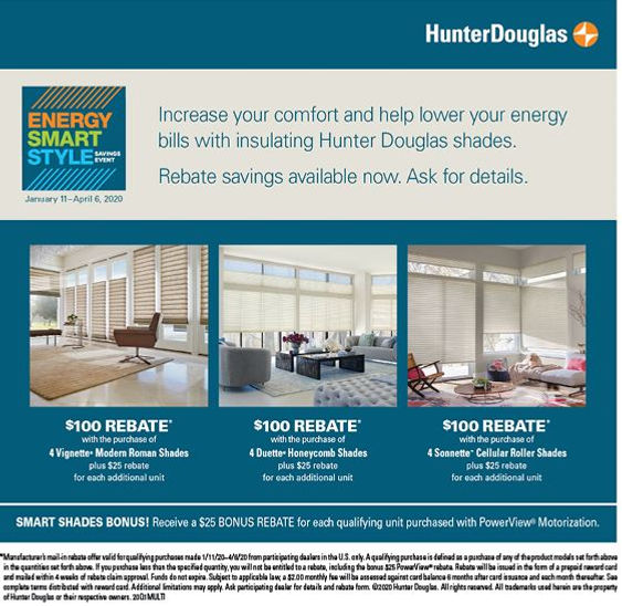 Hunter Douglas Blinds & Shades