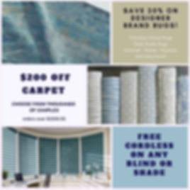 Carpet and Area Rug Sale