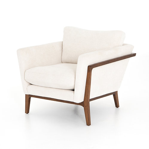 Dash Chair in Camargue Cream/Pecan