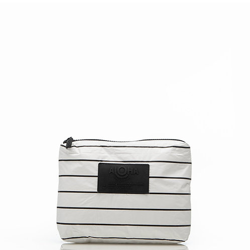 SMALL Pinstripe Pouch