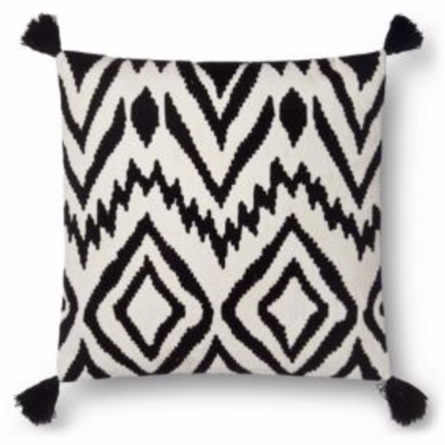BLACK & WHITE IKAT