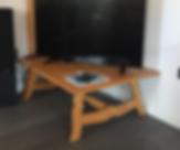 Tavolo piccolo legno massello