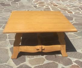 Tavolino basso in rovere