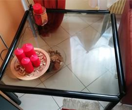 Tavolino quadrato nero