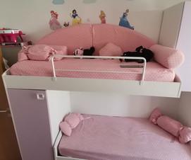 Cameretta rosa completa