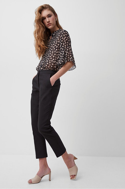French Connection - FINO GLASS STRETCH SLIM TROUSERS