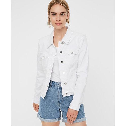 Vero Moda - Classic denim jacket - White