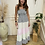 Thumbnail: Stripe tie top dress