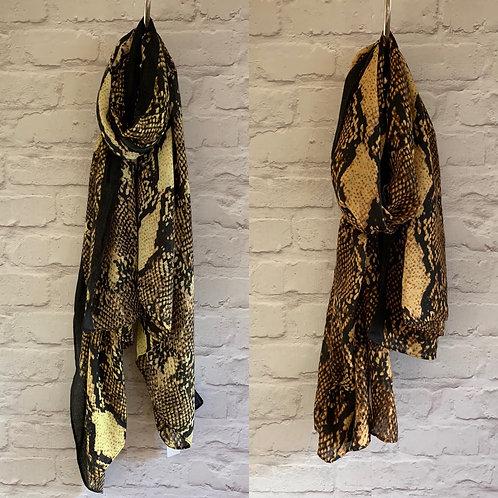 Malissa j - Snake print scarf