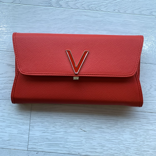 Valentino by Mario Valentino - Red V front clutch