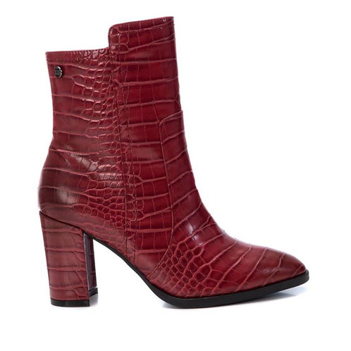 XTI - Croc ankle boot - Red