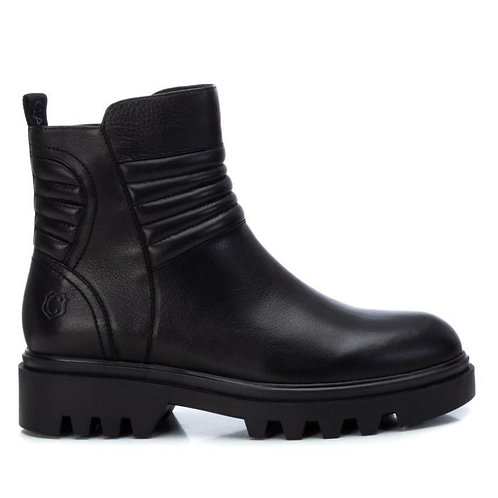 Carmela - 67948 - Ribbed detail leather ankle boot