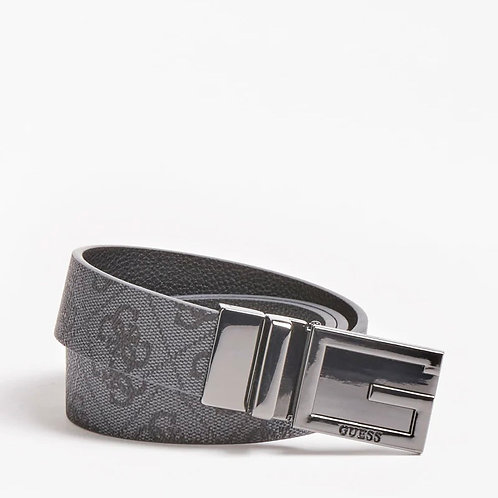 GUESS - 'VALY' - 4G logo reversible belt