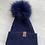 Thumbnail: Luxy London - HARLEY Pom Pom hat