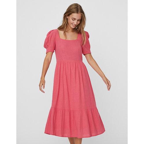 Vero Moda - puff sleeve midi dress