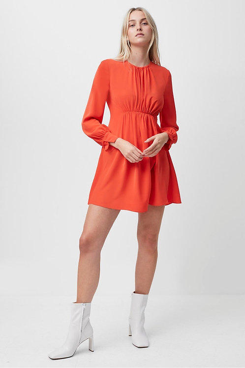 French Connection - EMMY CREPE LONG SLEEVE DRESS