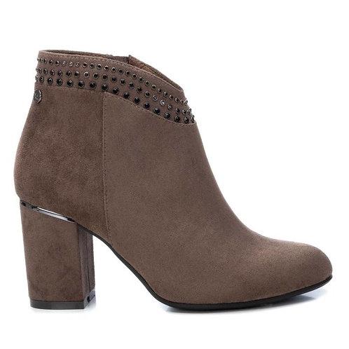 XTI - Jewel top block heel boot