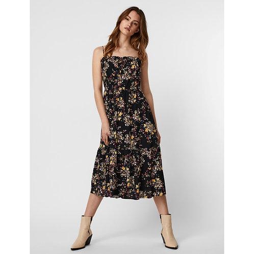 Vero Moda - Floral printed midi dress