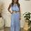 Thumbnail: Chambray button maxi dress