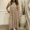 Thumbnail: Floral longer prairie dress