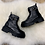 Thumbnail: Chunky zip detail ankle boot