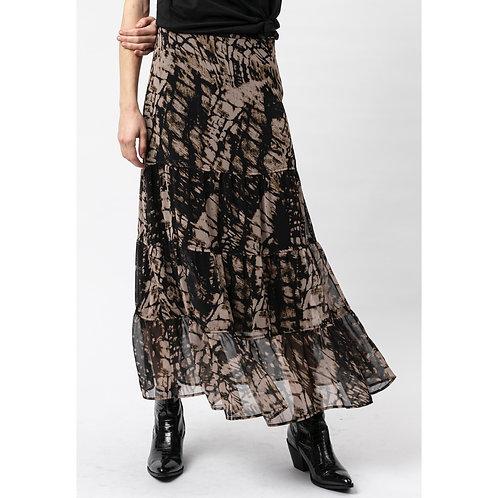 Religion - Printed maxi skirt