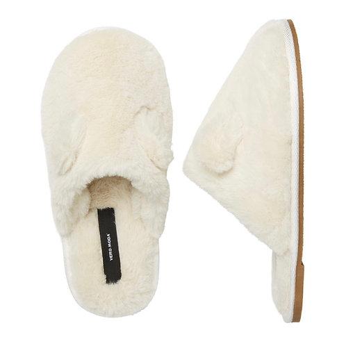 Vero Moda - Soft faux fur slipper