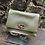 Thumbnail: Real leather - clasp fastening shoulder bag