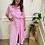 Thumbnail: Belted shirt dress