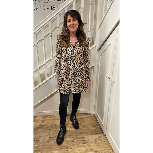 Leopard print dress/tunic