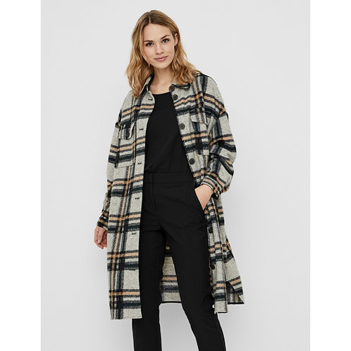 Vero Moda - Checked longer Shacket