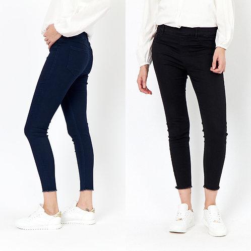 Soya concept - 'NADIRA' Fray bottom 3/4 jeans