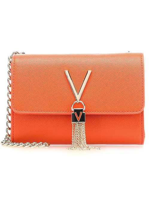 Valentino Bags - 'DIVINA' V tassel bag - Orange